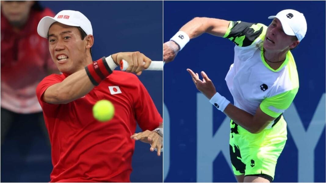 Kei NIshikori vs Ilya Ivashka will clash in the 3rd round of the Tokyo Olympics 2020