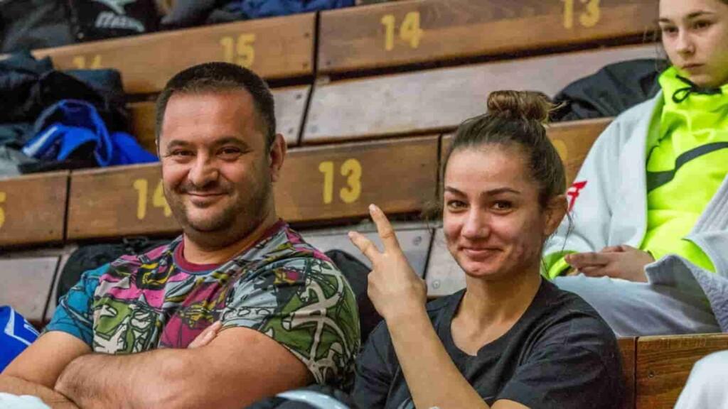 Kelmendi and his coach
