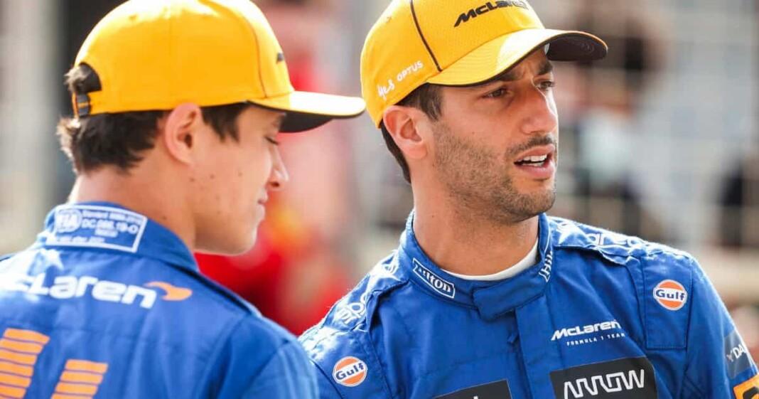 Lando Norris Chooses Carlos Sainz Over Daniel Ricciardo