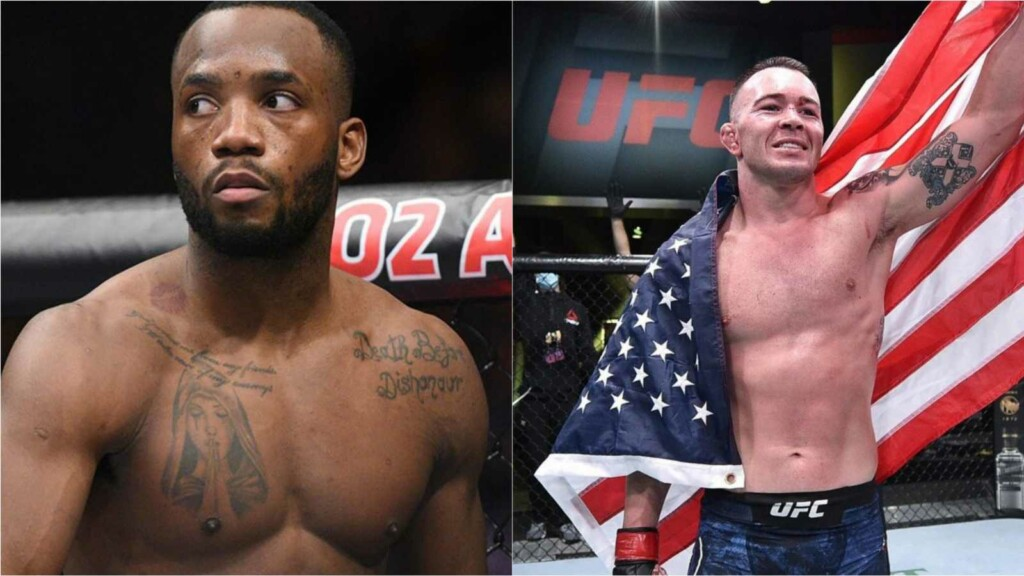 Leon Edwards and Colby Covington
