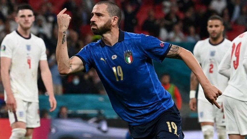 Leonardo bonucci scored Italy's goal