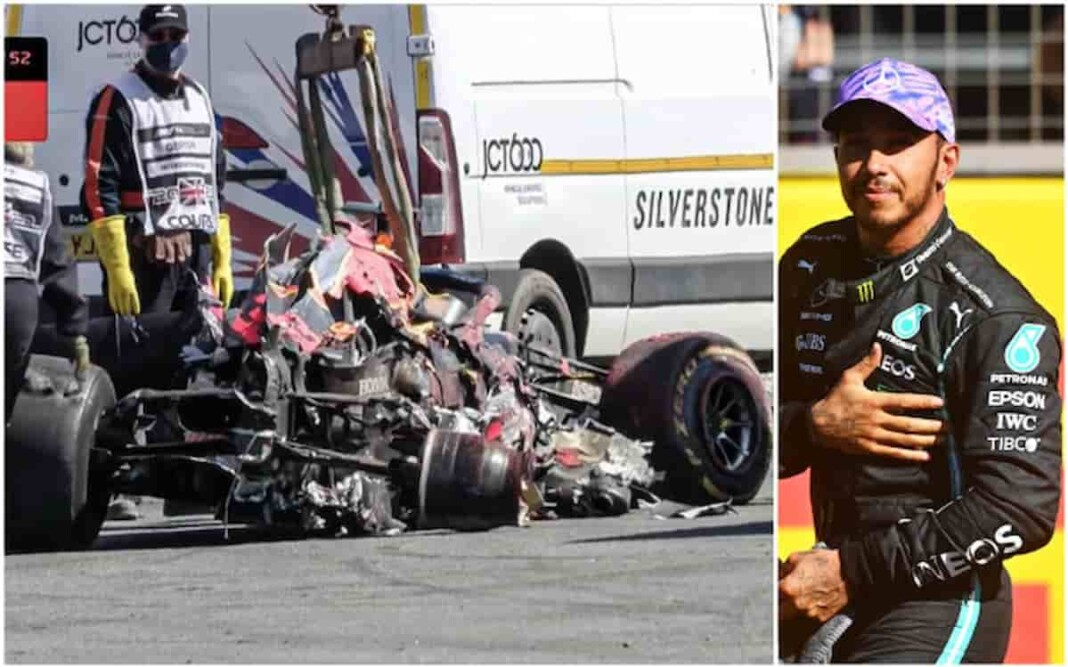 Lewis Hamilton on Max Verstappen Crash