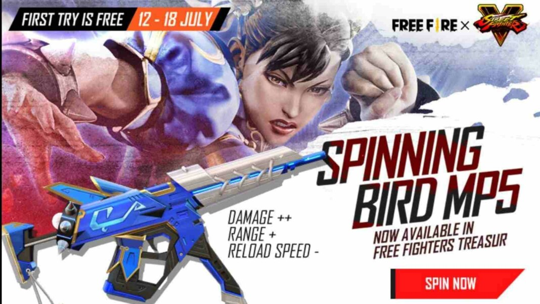 MP5 Spinning Bird in Free Fire