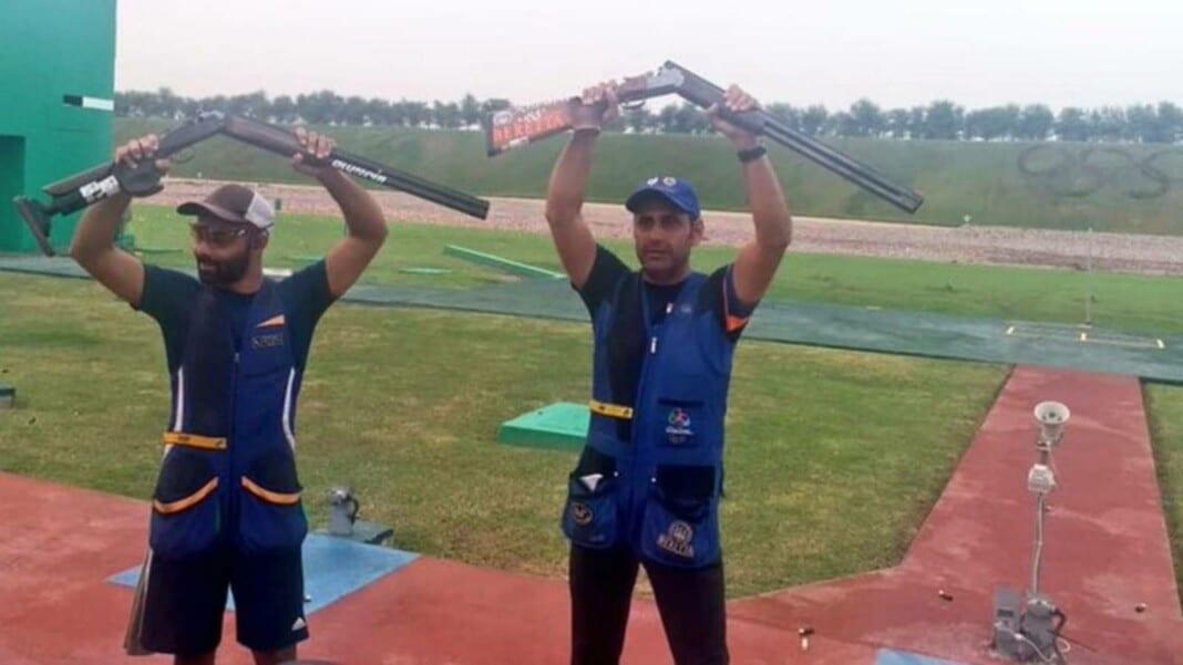 Mairaj Ahmad Khan and Angad Vir Singh Bajwa - Tokyo Olympics India's Skeet Team