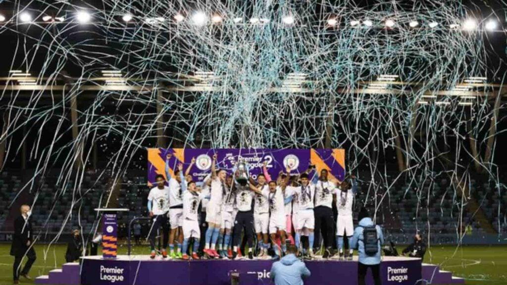 Manchester City Premier League 2 champions 2020 21 - FirstSportz