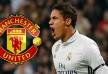 Manchester United to sign Raphael Varane