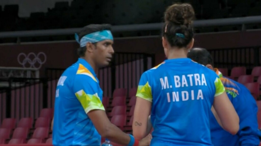 Manika Batra and Sharath Kamal, Teble tennis at Tokyo Olympics