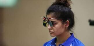 shooting at Tokyo Olympics; Manu Bhaker