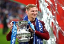 Marc Albrighton extends his contract with Leicester City FC until 2024