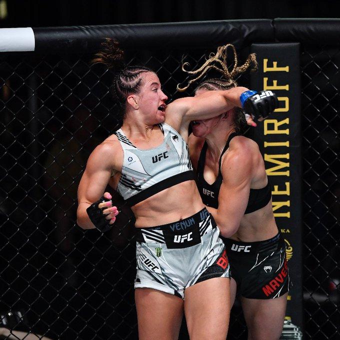 Maycee Barber vs Miranda Maverick at UFC Vegas 32