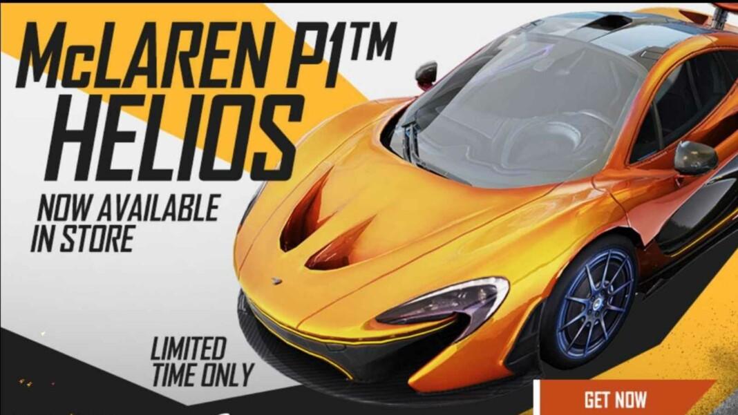 McLaren P1 Helios in Free Fire