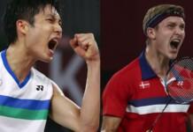 Men's badminton Singles; Chen Long, Viktor Axelsen