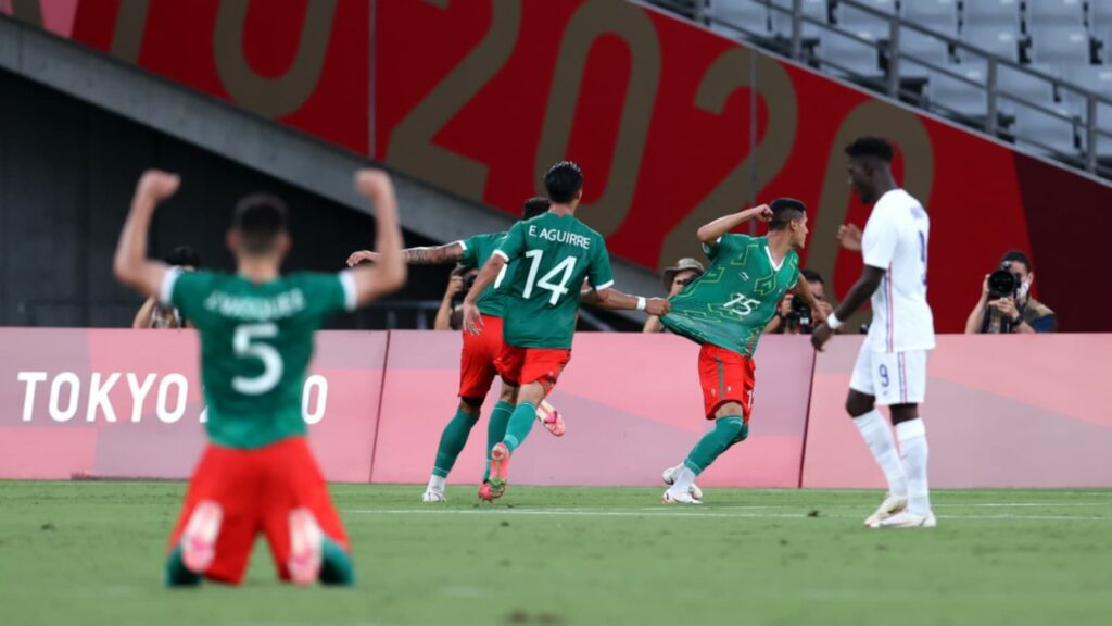 Mexico defeated France - FirstSportz