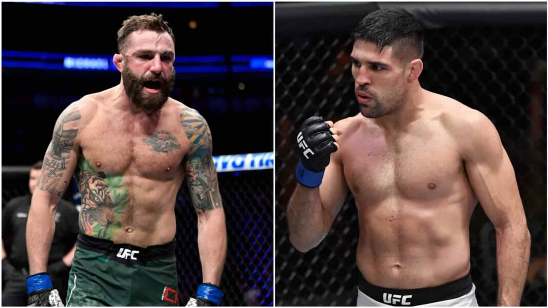 Michael Chiesa and Vicente Luque