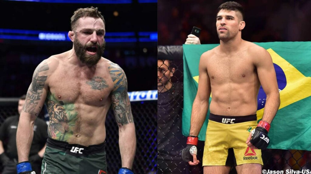 Michael Chiesa on Vicente Luque