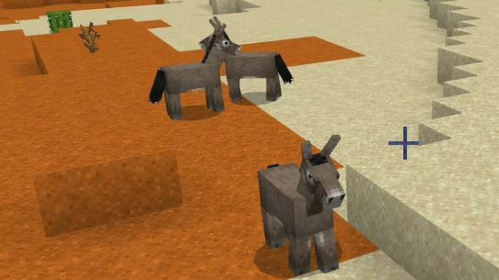 Minecraft Donkey