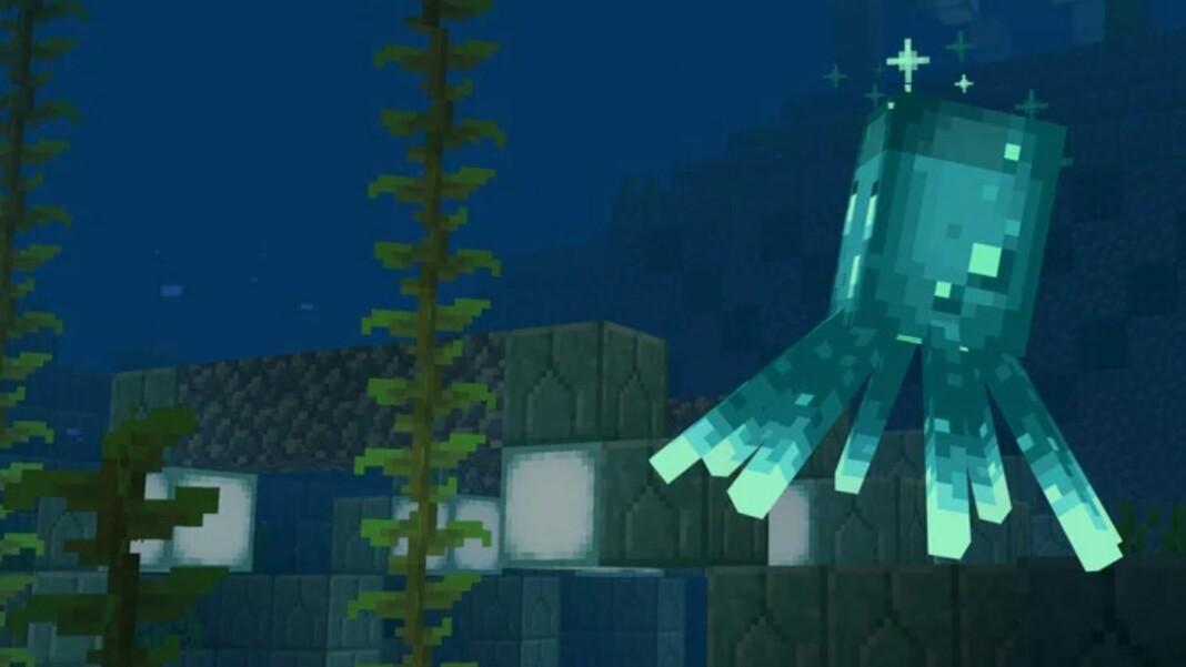Minecraft Glow Squid
