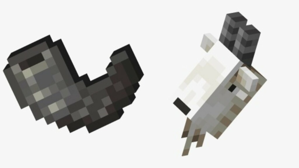 Minecraft Goat Horn