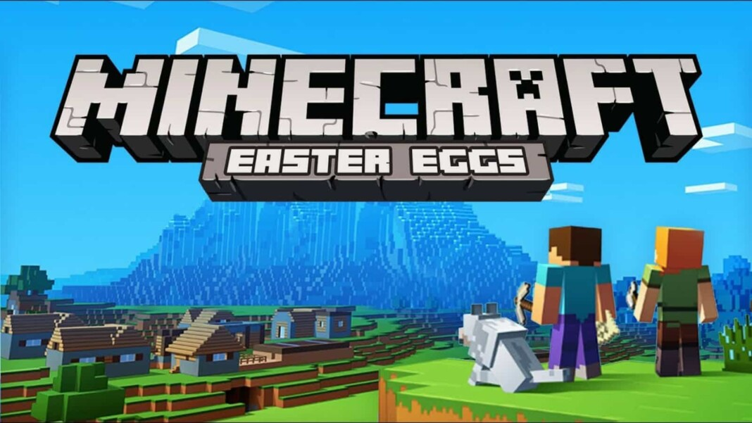 Minecraft Name tag Easter Eggs