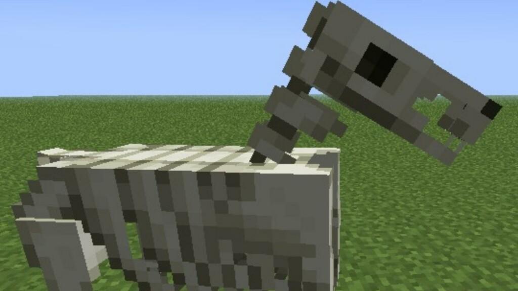 Minecraft Skeleton Horse