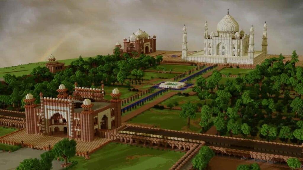 Minecraft Taj Mahal
