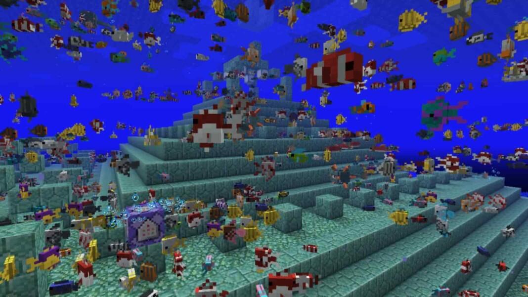 Minecraft Tropical Fish