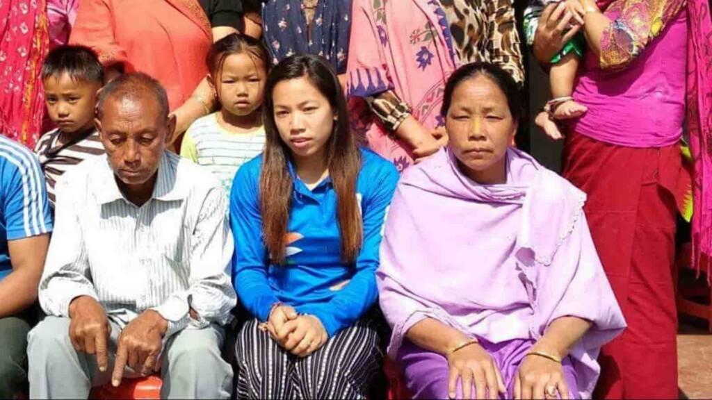 Mirabai Chanu parents