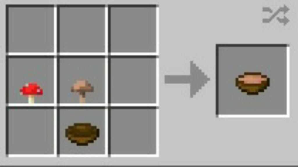 Mushroom Stew in Minecraft