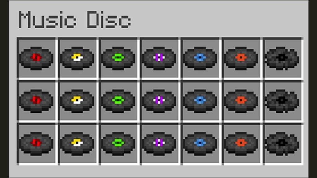 Music Disc in Minecraft