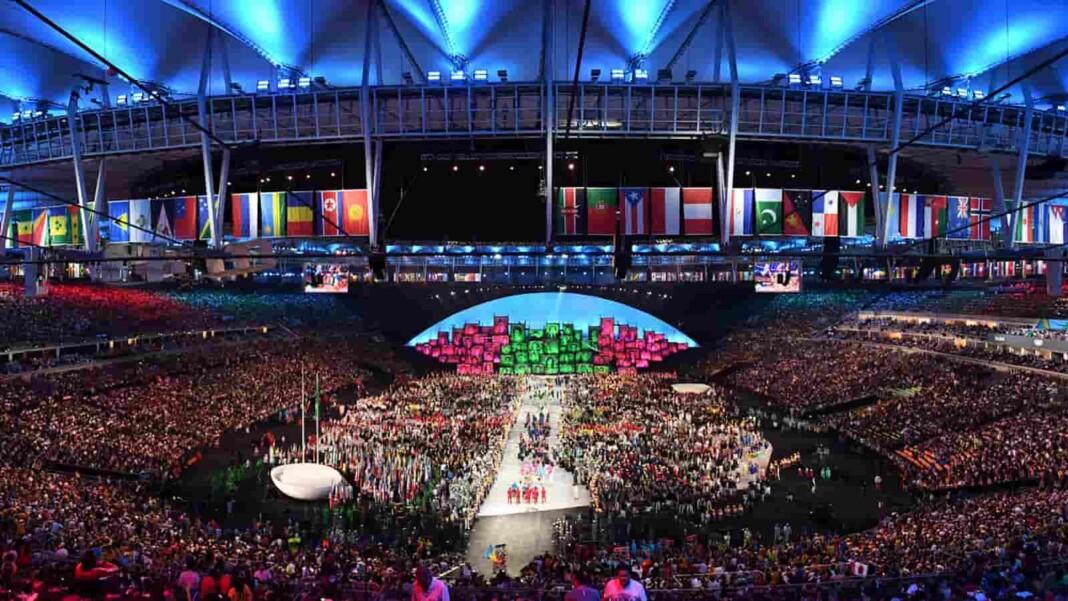 2020 Tokyo Olympics opening ceremony