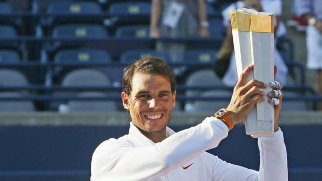 Nadal 5 time winner