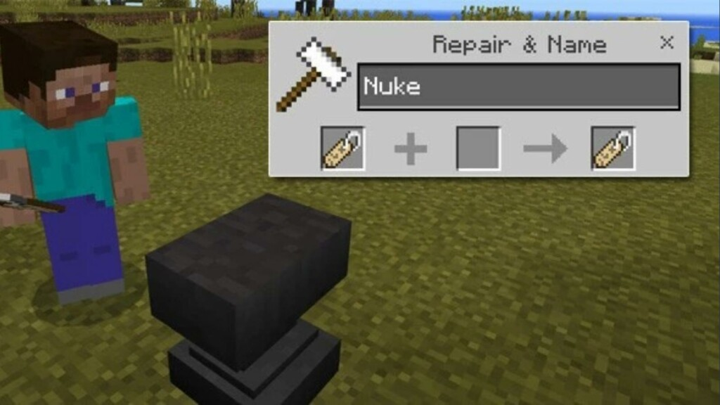 Name Tag in Minecraft
