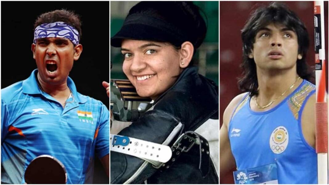 Neeraj Chopra, Sharath Kamal and Anjum Moudgil, Rajiv Gandhi Khel Ratna award nominees