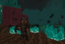 Netherite Pickaxe in Minecraft