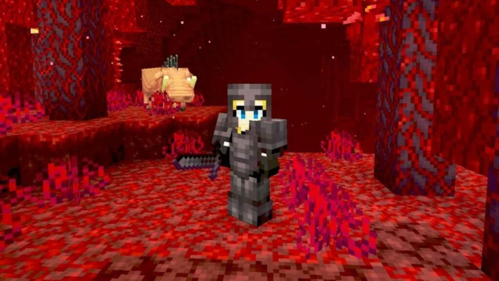 Netherite Sword in Minecraft