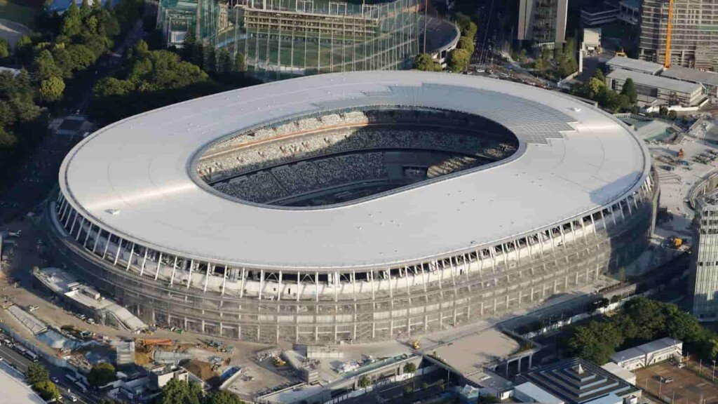 New National Stadium will host the opening ceremony for Tokyo Olympics