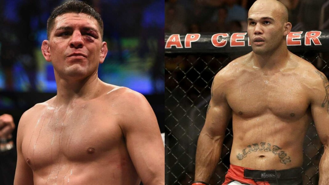 Nick Diaz vs. Robbie Lawler for UFC 266