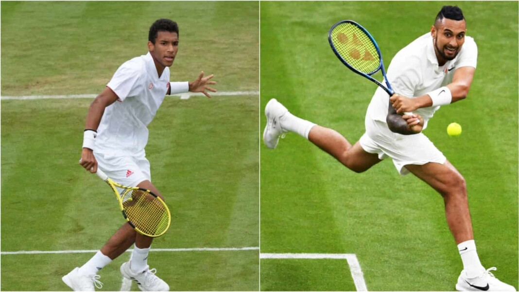Nick Kyrgios vs Felix Auger-Aliassime will clash in the 3rd round of the Wimbledon 2021