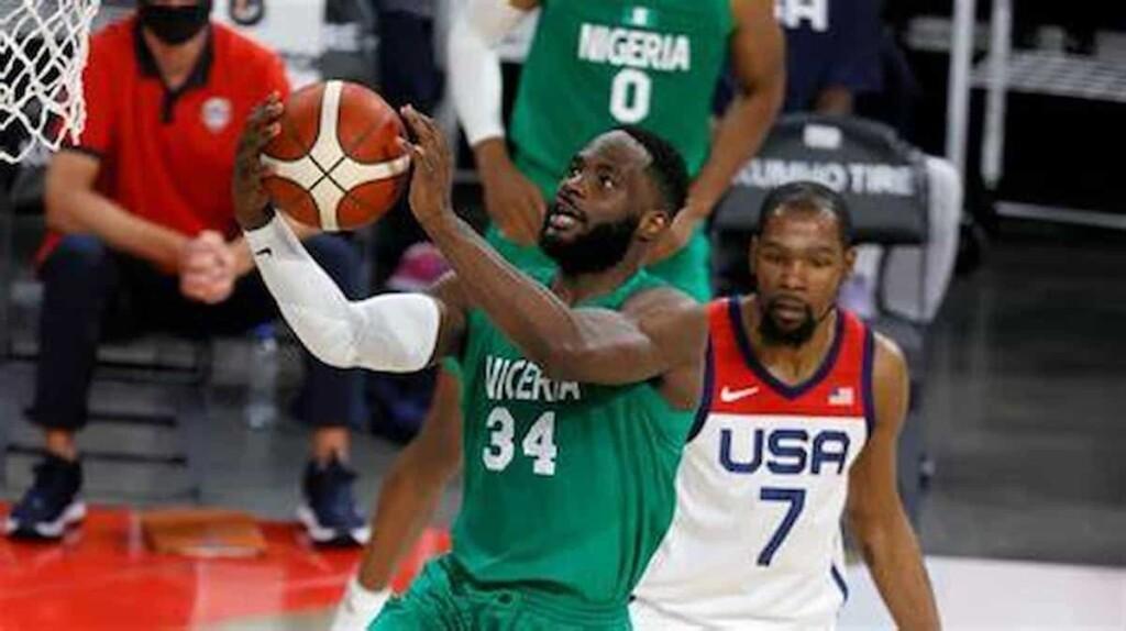 Nigeria beat USA before Tokyo Olympics 1 - FirstSportz