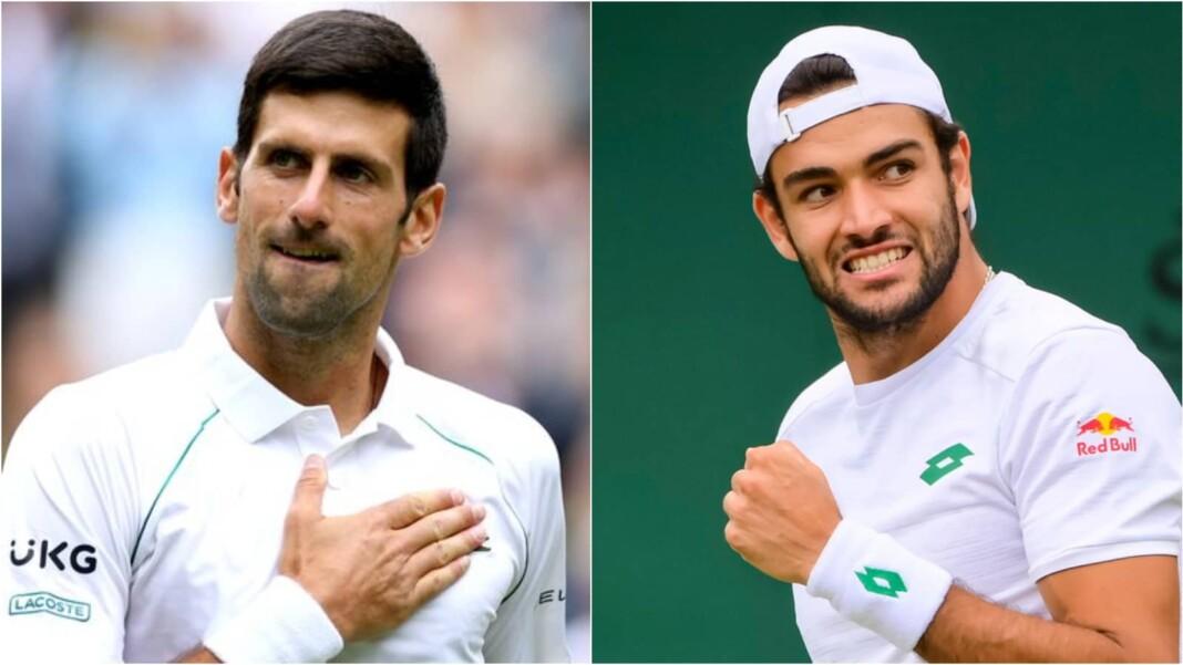 Novak Djokovic and Matteo Berrettini will be at the Centre Court of the Wimbledon 2021