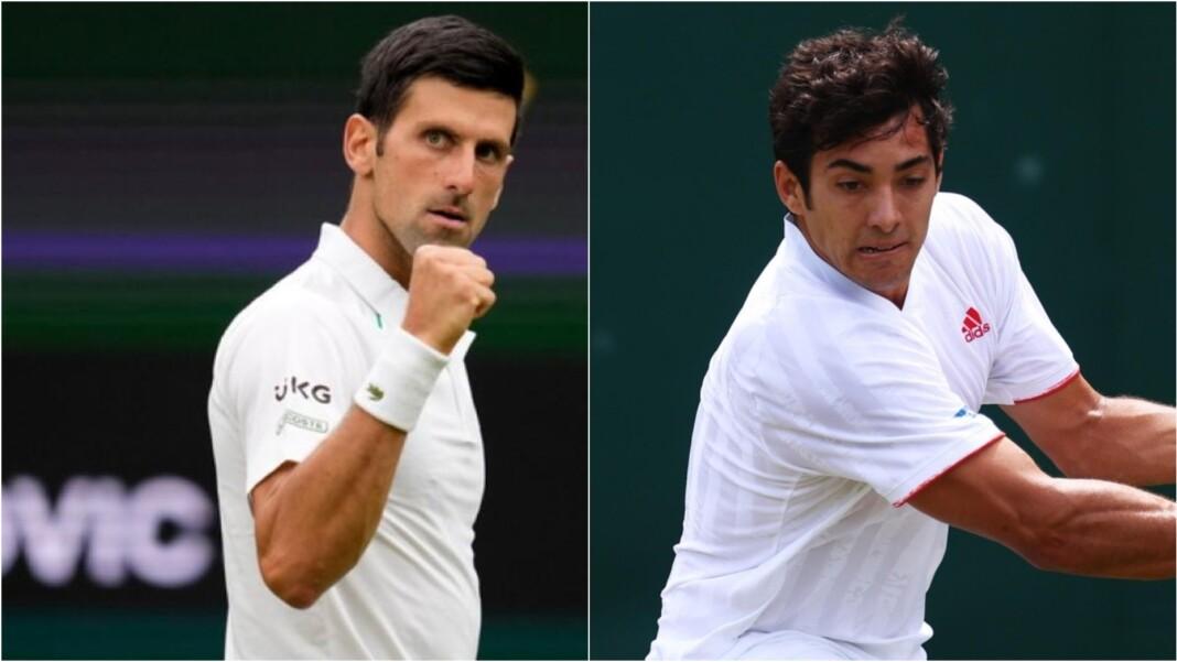 Novak Djokovic vs Cristian Garin
