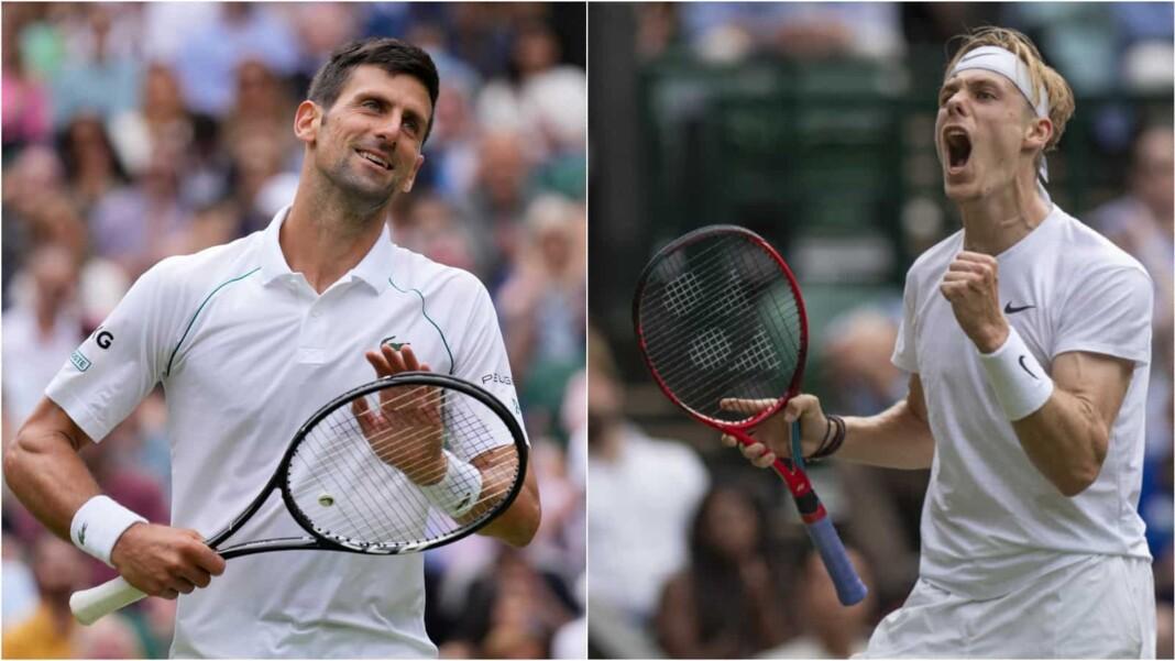 Novak Djokovic vs Denis Shapovalov will clash in the semi-finals of the Wimbledon 2021