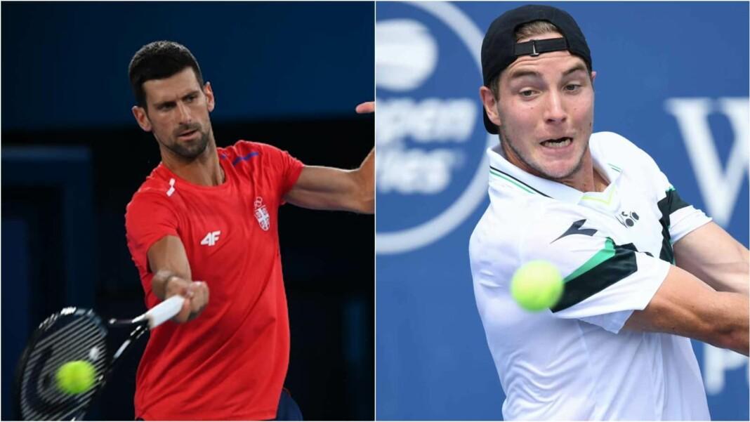 Novak Djokovic vs Jan-Lennard Struff will clash in the 2nd round of the Tokyo Olympics 2020