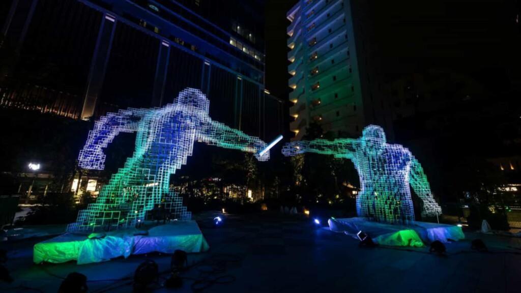 Olympics Agora at Tokyo Olympics
