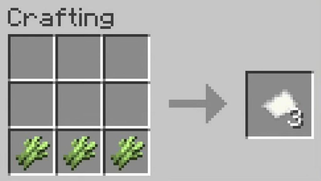 Paper in Minecraft