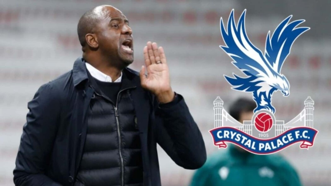 Patrick Vieira appointed Crystal Palace boss