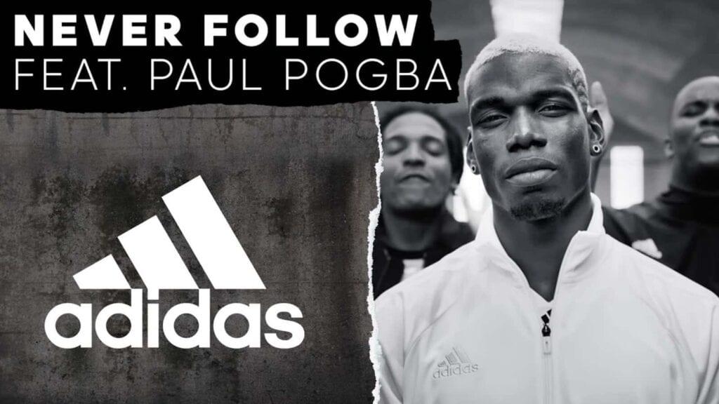 Paul Pogba endorses Adidas