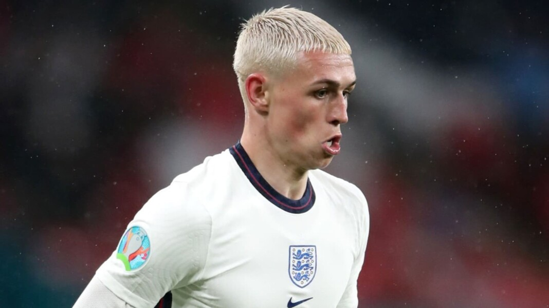 Phil Foden misses training