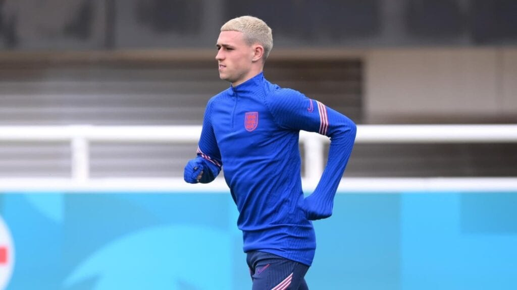 Phil Foden was not seen in training today