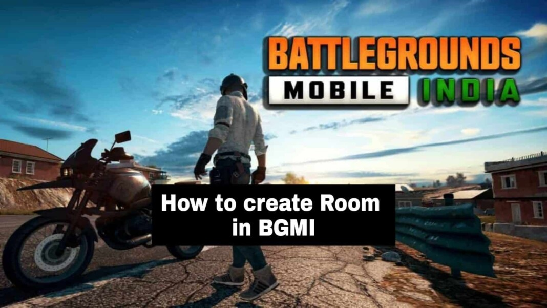 How to create a room in BGMI?